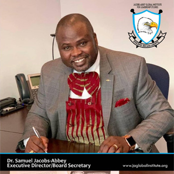 Dr. Samuel Jacobs-Abbey, PhD, MBA